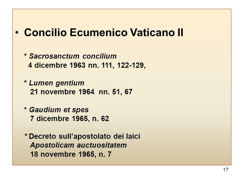Concilio Ecumenico Vaticano II
