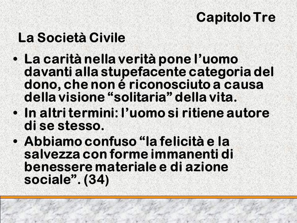 Capitolo Tre La Società Civile
