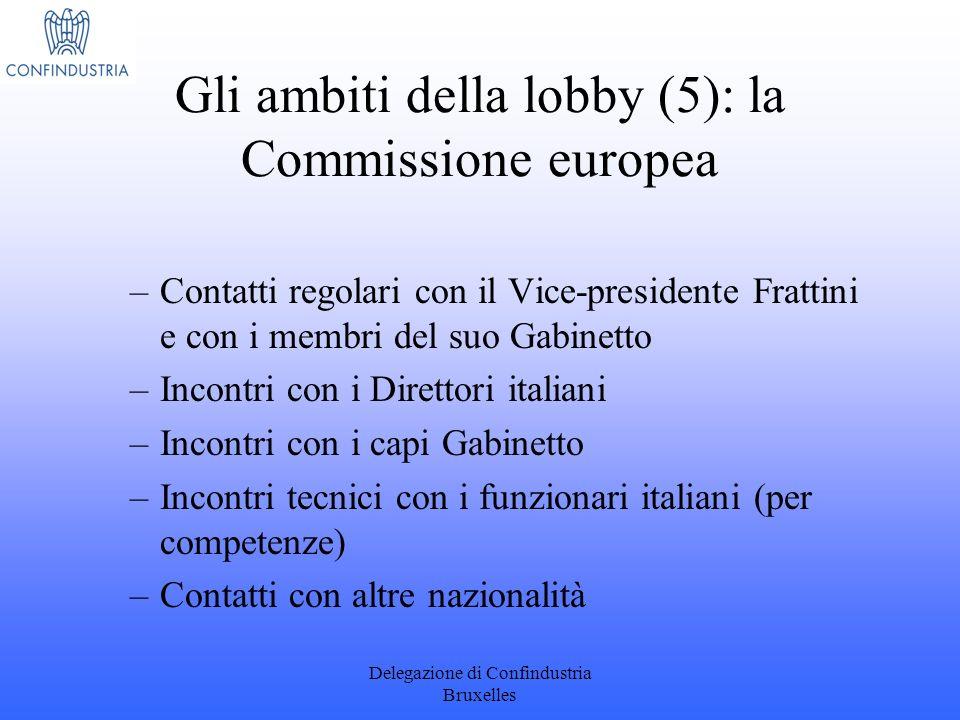 Gli ambiti della lobby (5): la Commissione europea