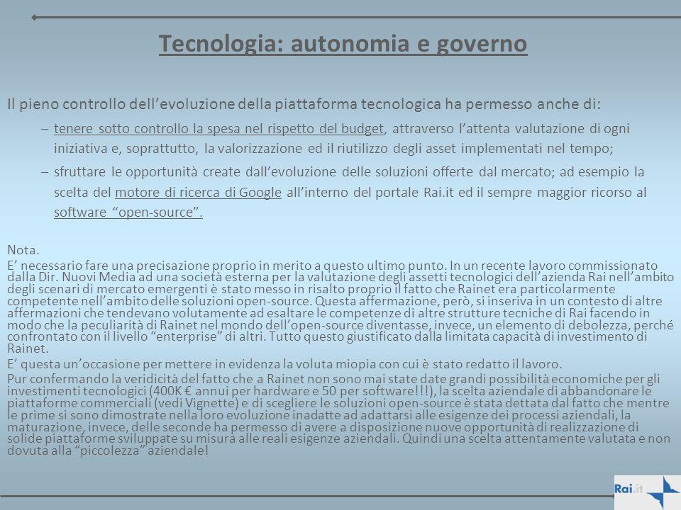 Tecnologia: autonomia e governo