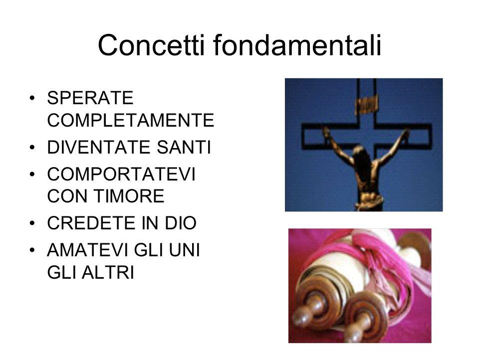 Concetti fondamentali
