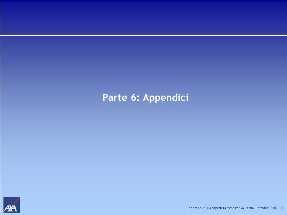 Parte 6: Appendici
