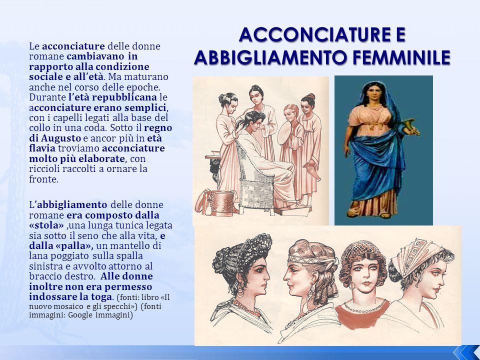 Acconciature e abbigliamento femminile