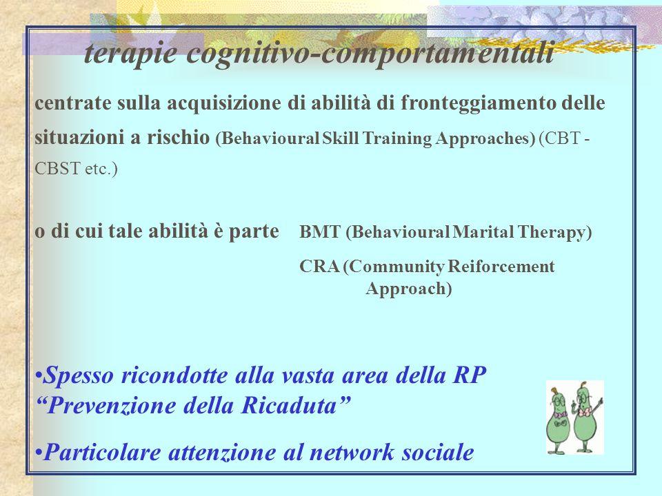 terapie cognitivo-comportamentali