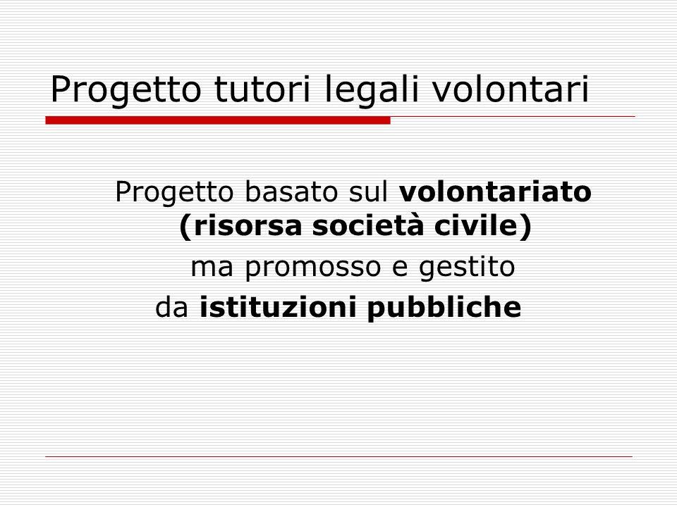 Progetto tutori legali volontari