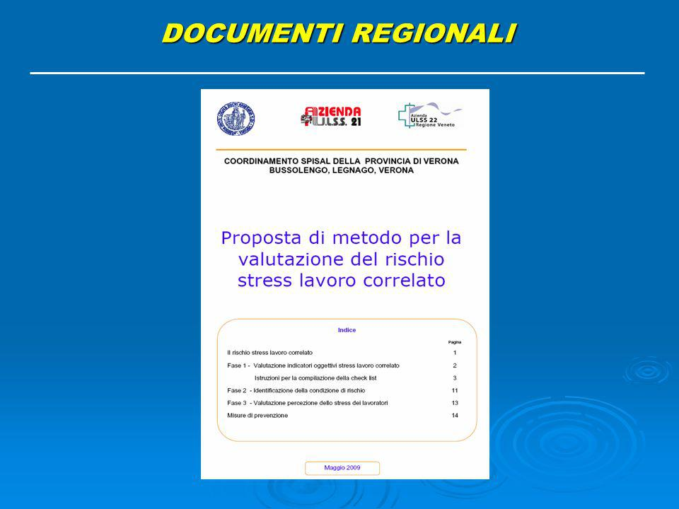 DOCUMENTI REGIONALI