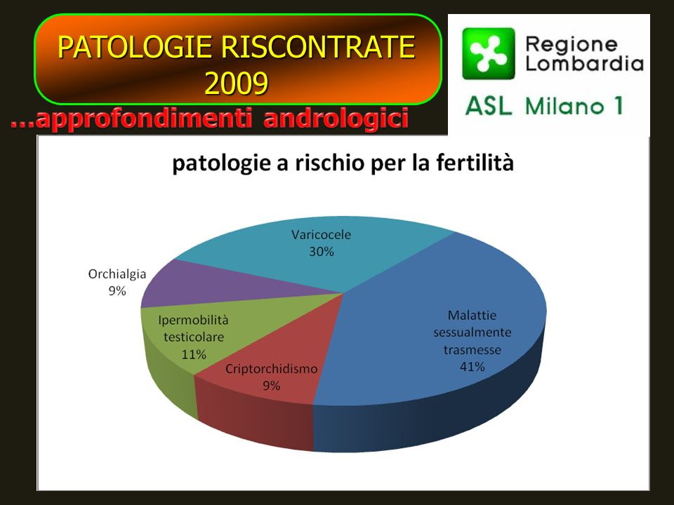 PATOLOGIE RISCONTRATE 2009