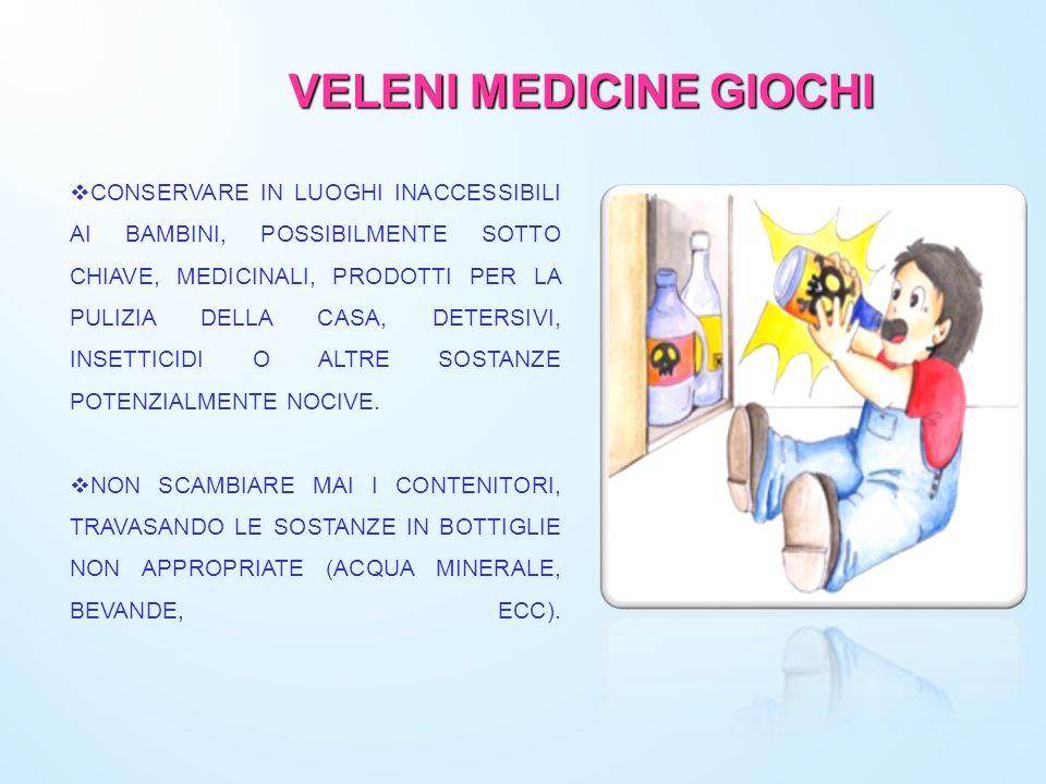 VELENI MEDICINE GIOCHI