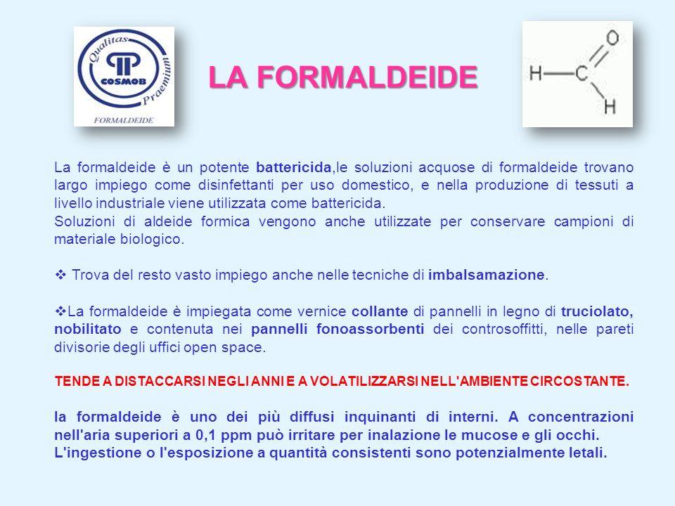 LA FORMALDEIDE