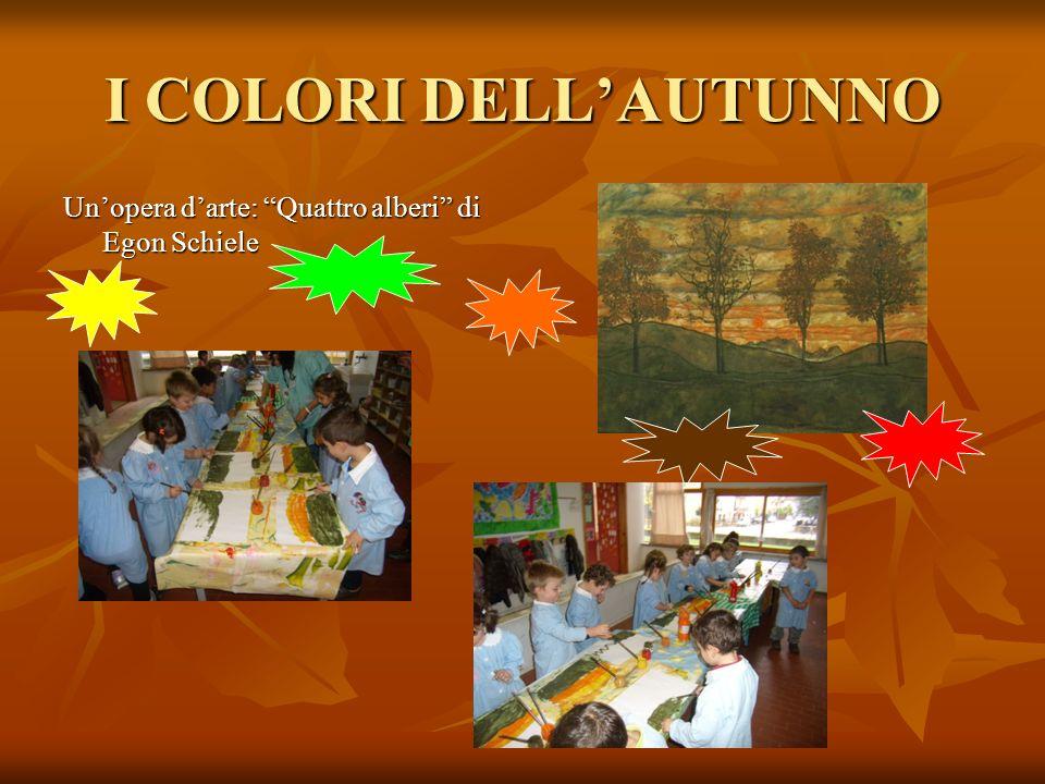 I COLORI DELL'AUTUNNO Un'opera d'arte: Quattro alberi di Egon Schiele