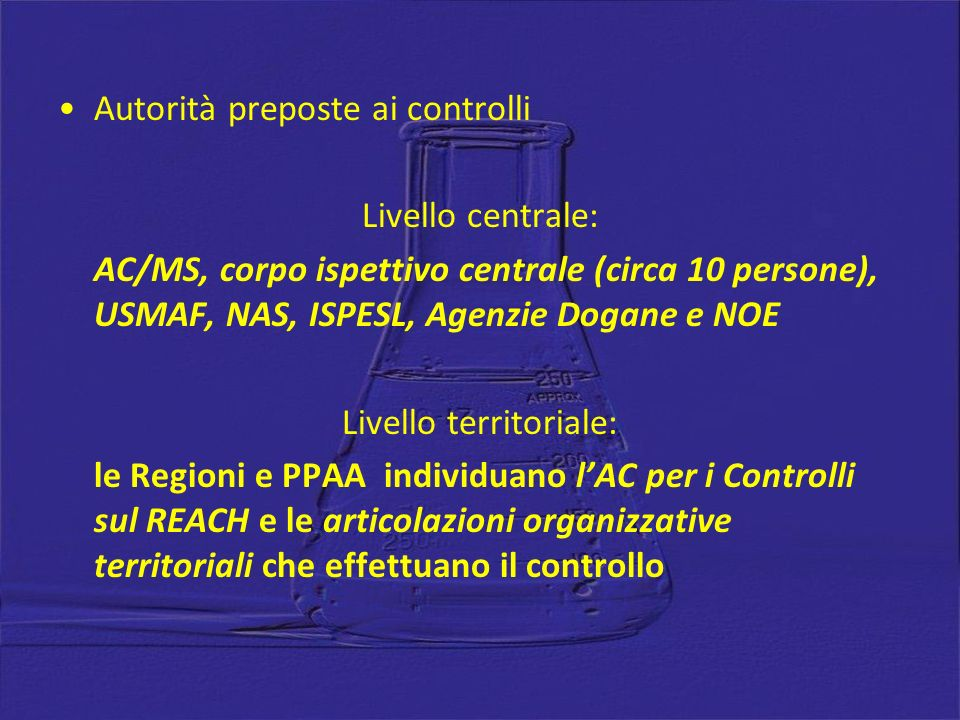Livello territoriale: