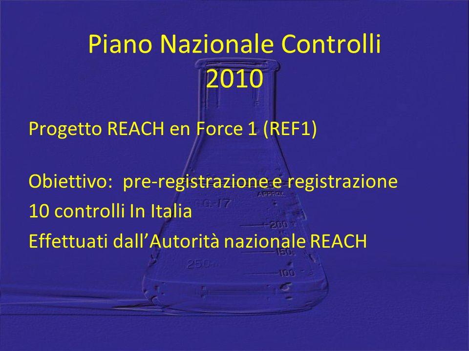 Piano Nazionale Controlli 2010