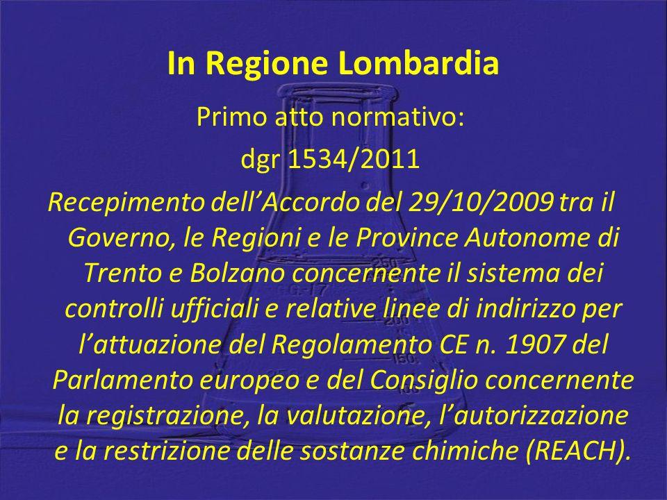 In Regione Lombardia