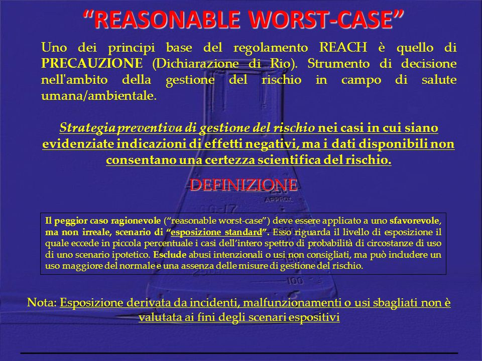 REASONABLE WORST-CASE