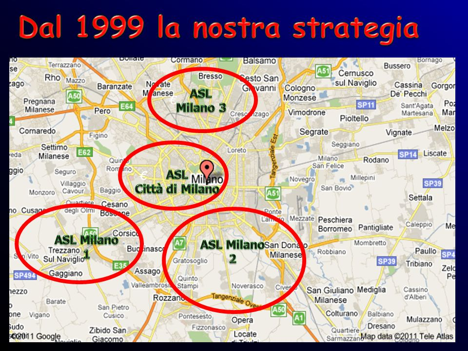 Dal 1999 la nostra strategia