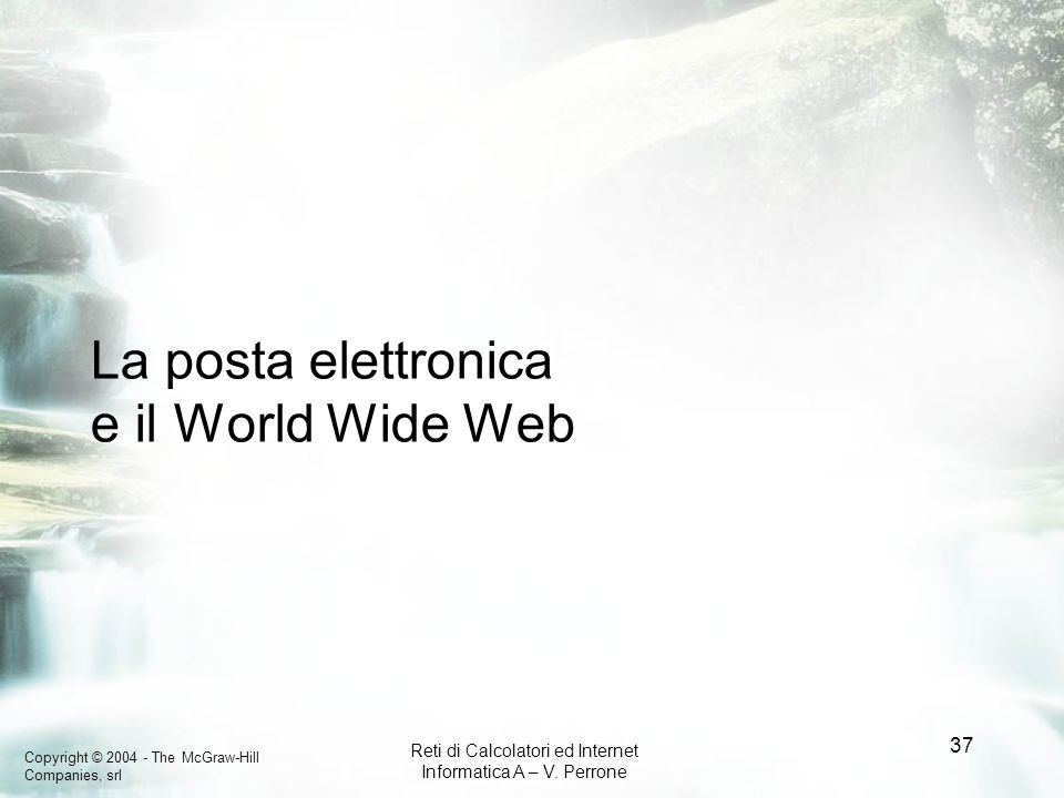La posta elettronica e il World Wide Web