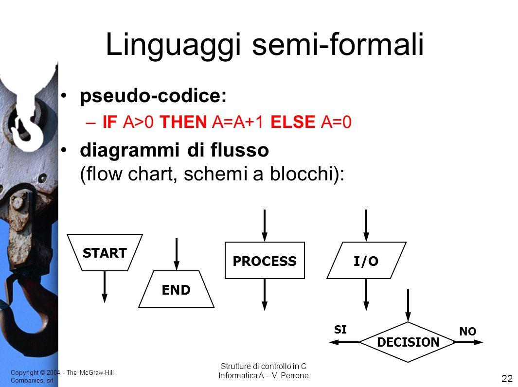 Linguaggi semi-formali