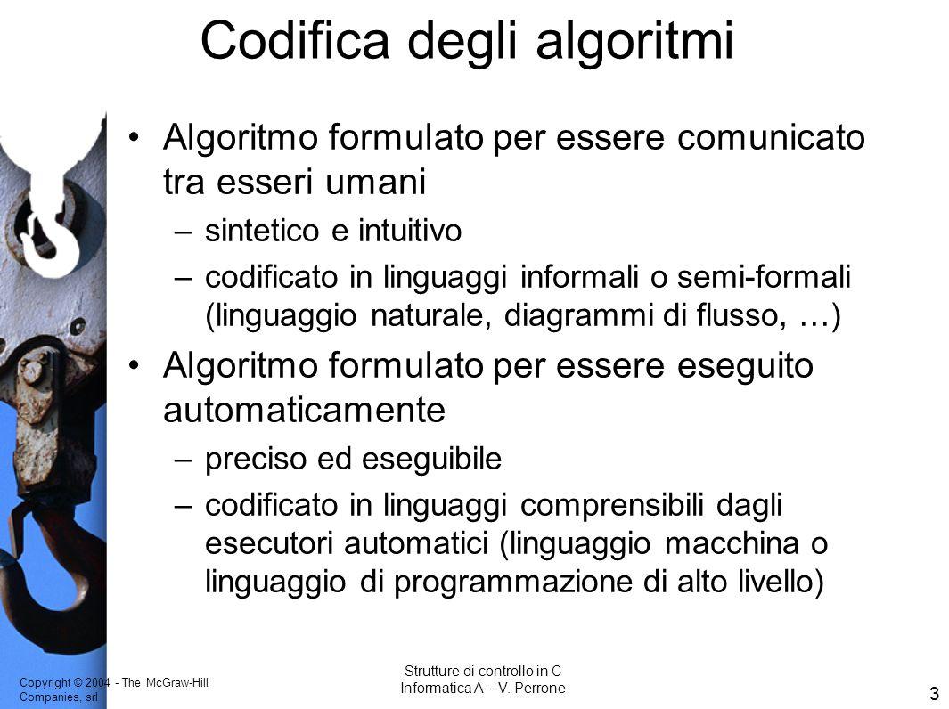 Codifica degli algoritmi
