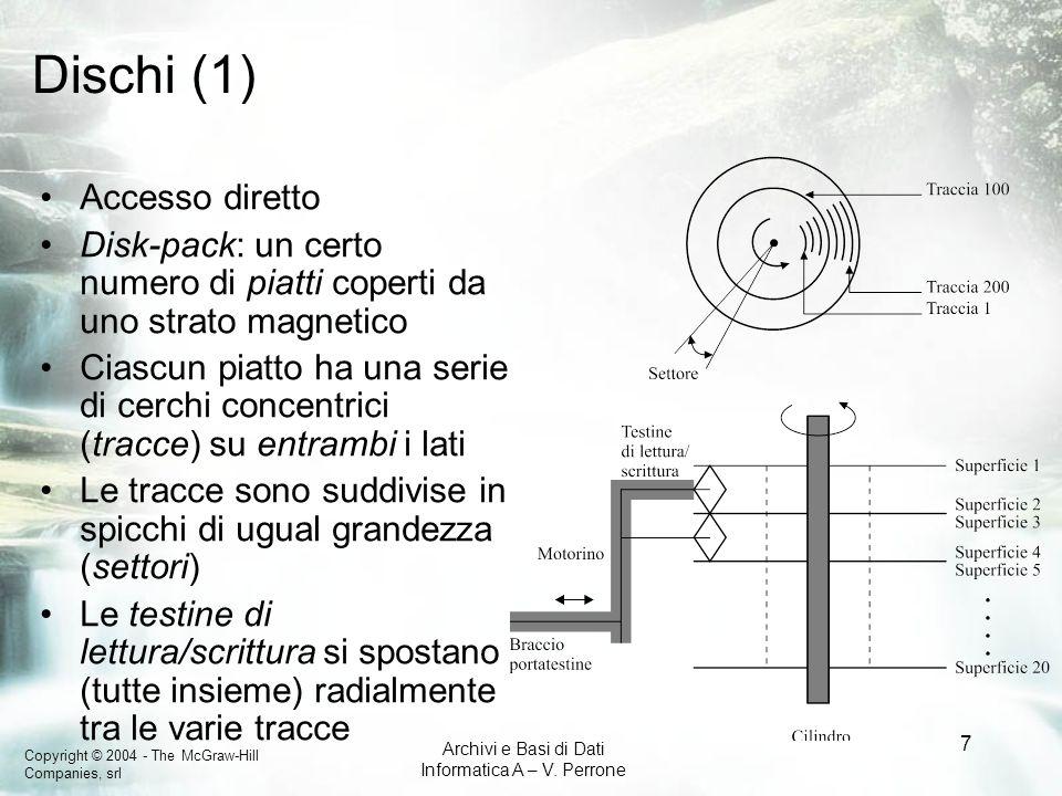 Dischi (1) Accesso diretto