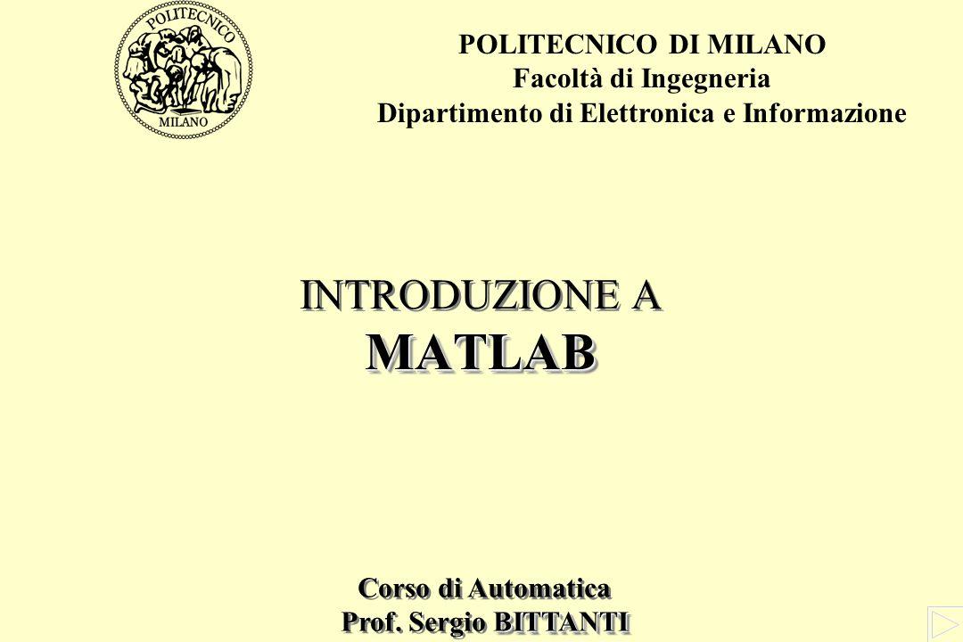 Dipartimento di Elettronica e Informazione