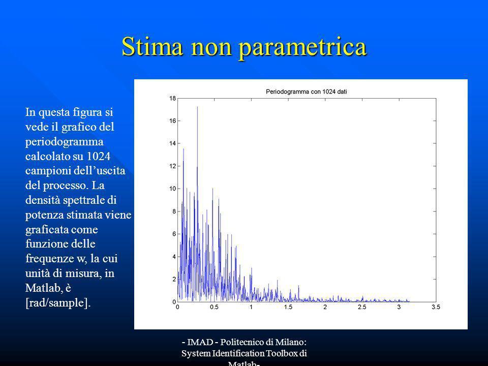 Stima non parametrica