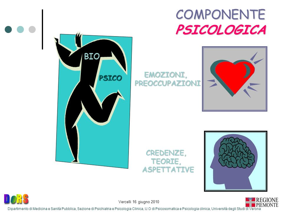 COMPONENTE PSICOLOGICA