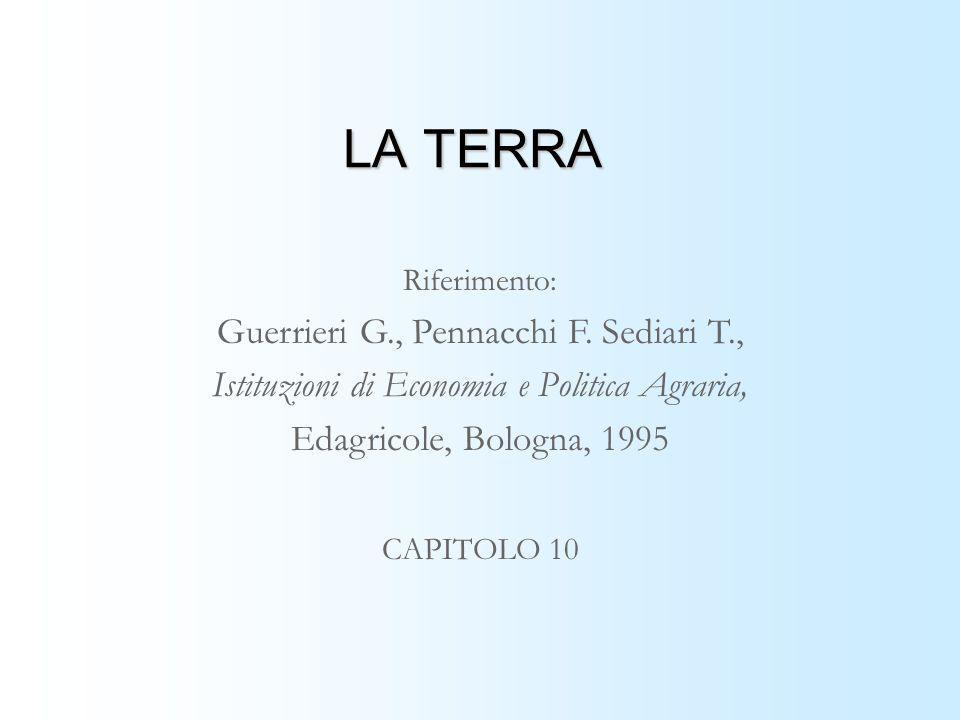 LA TERRA Guerrieri G., Pennacchi F. Sediari T.,
