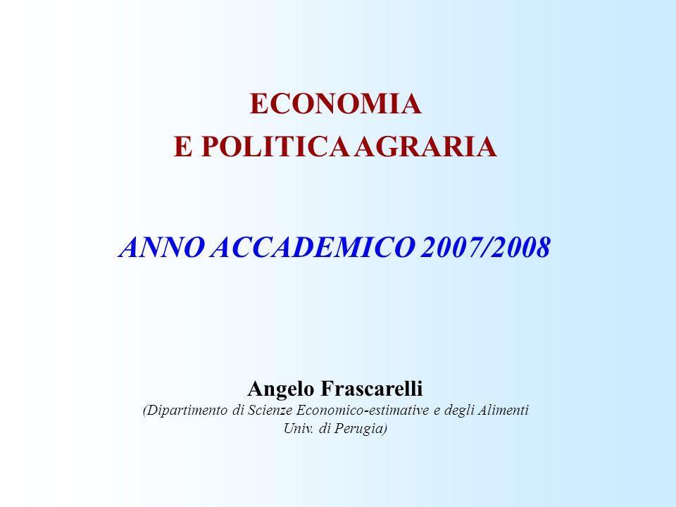 (Dipartimento di Scienze Economico-estimative e degli Alimenti