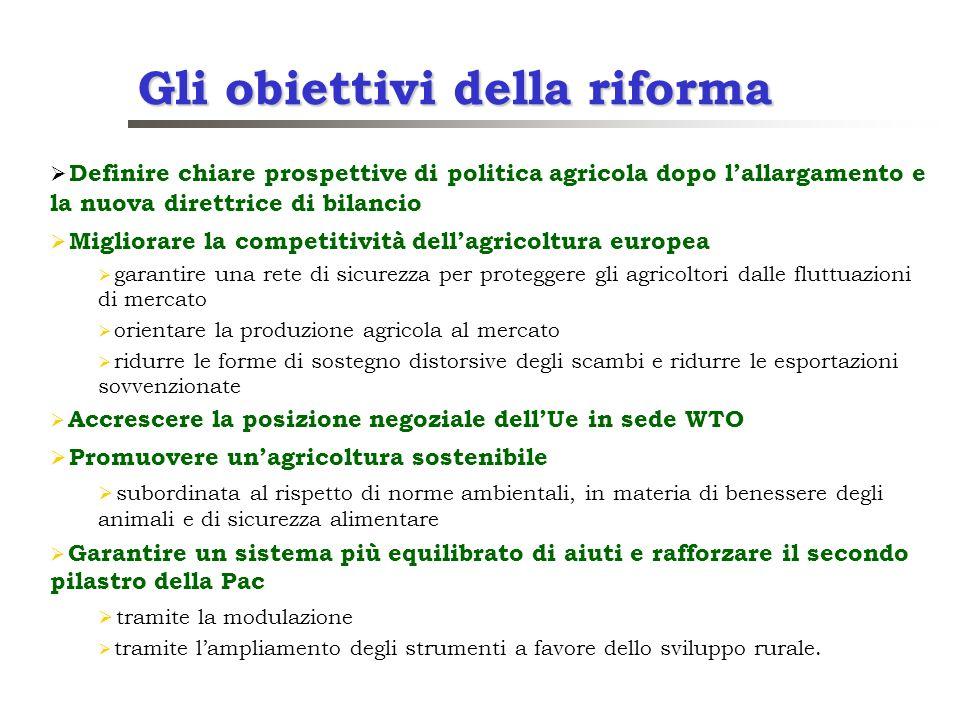Gli obiettivi della riforma