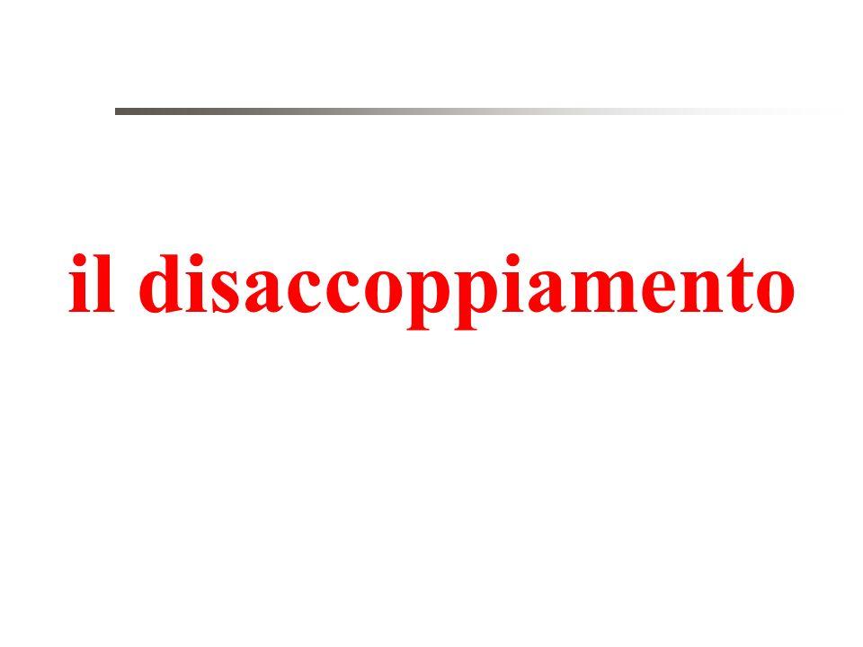 il disaccoppiamento