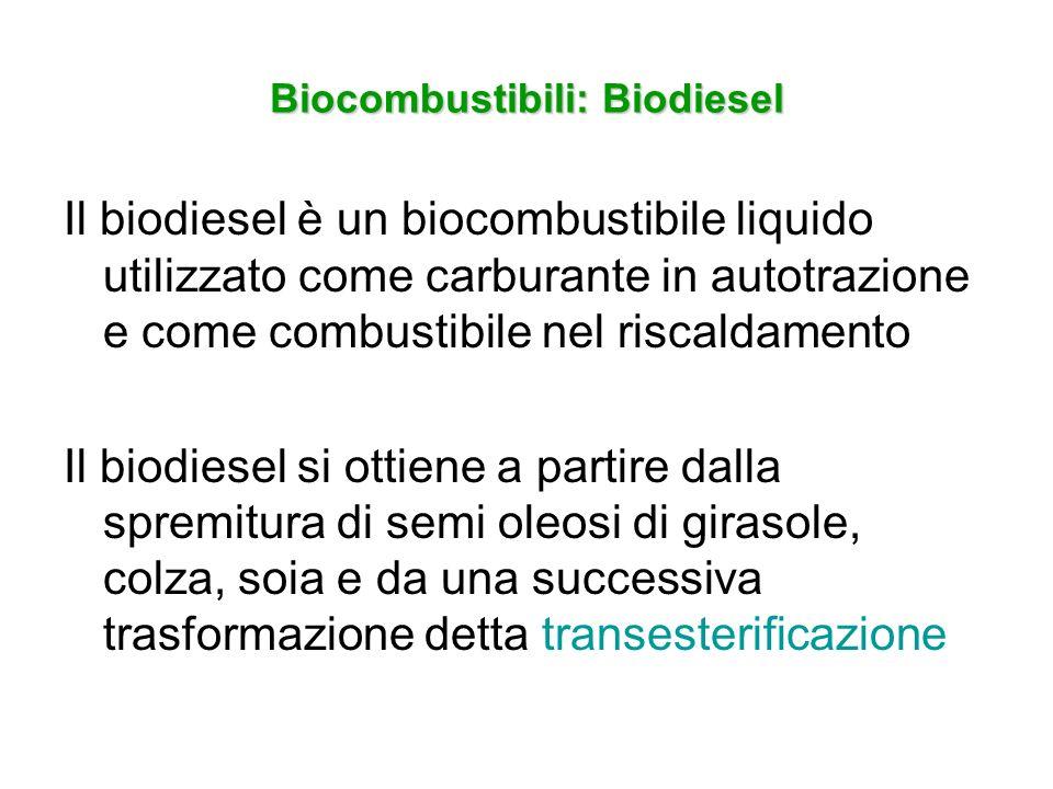Biocombustibili: Biodiesel
