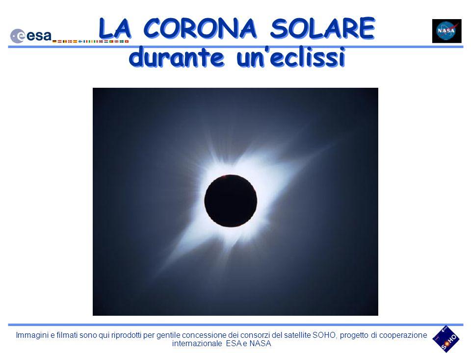 LA CORONA SOLARE durante un'eclissi