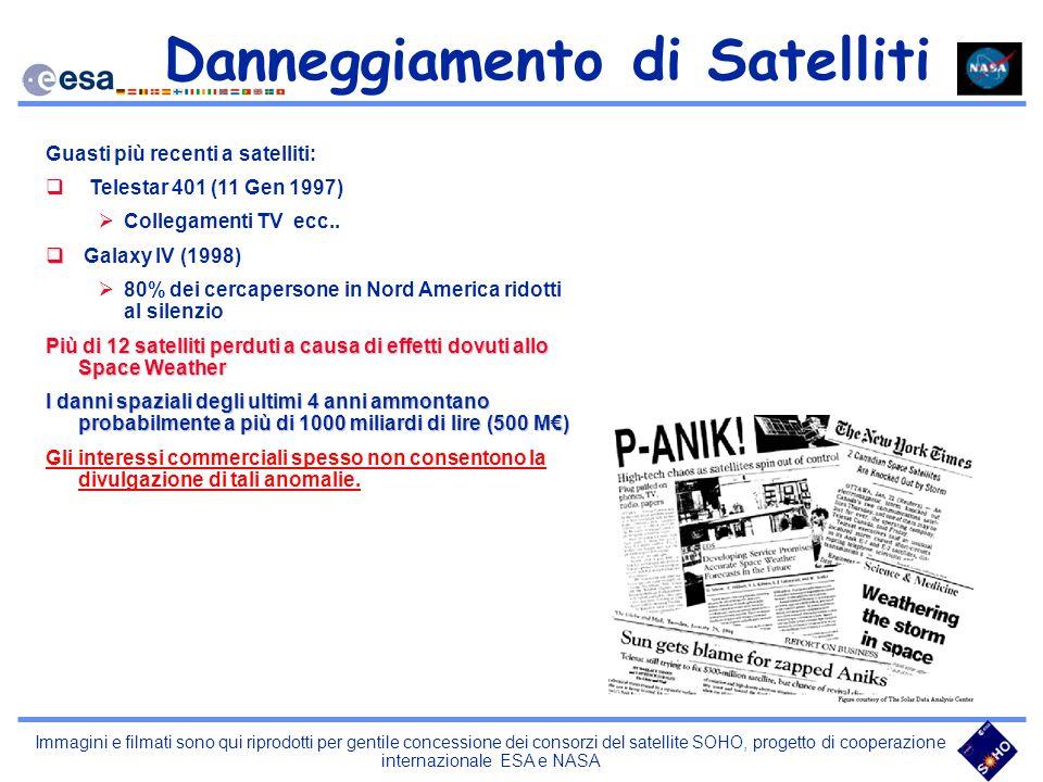 Danneggiamento di Satelliti