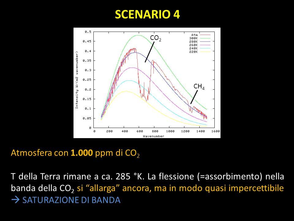 SCENARIO 4 Atmosfera con 1.000 ppm di CO2