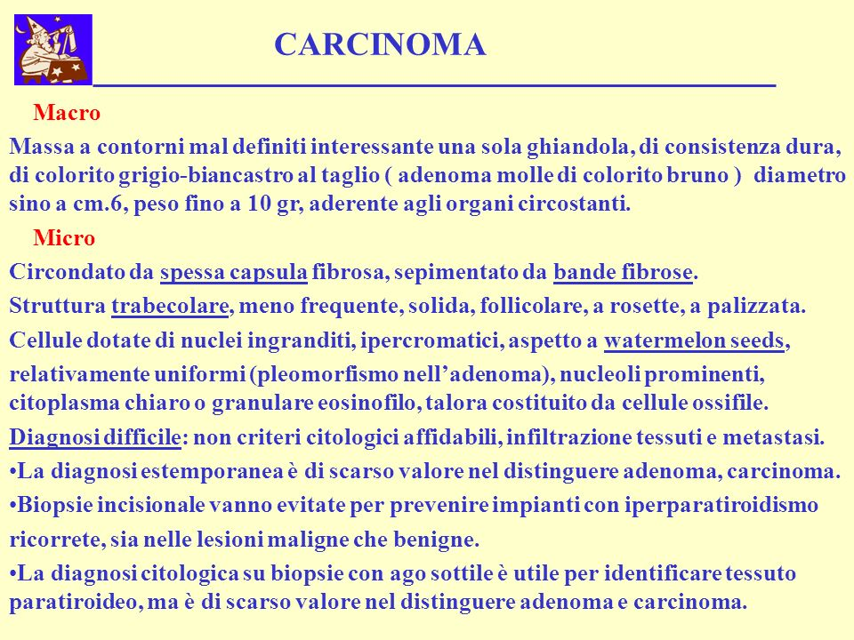 CARCINOMA Macro.