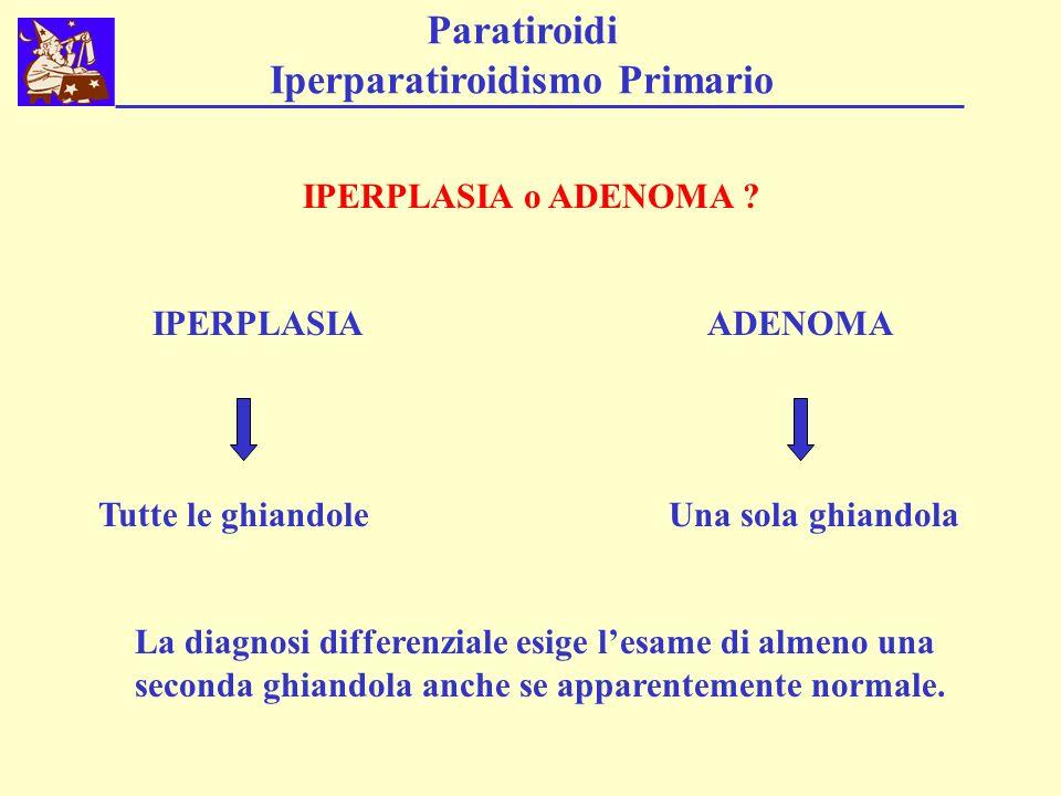 Paratiroidi Iperparatiroidismo Primario