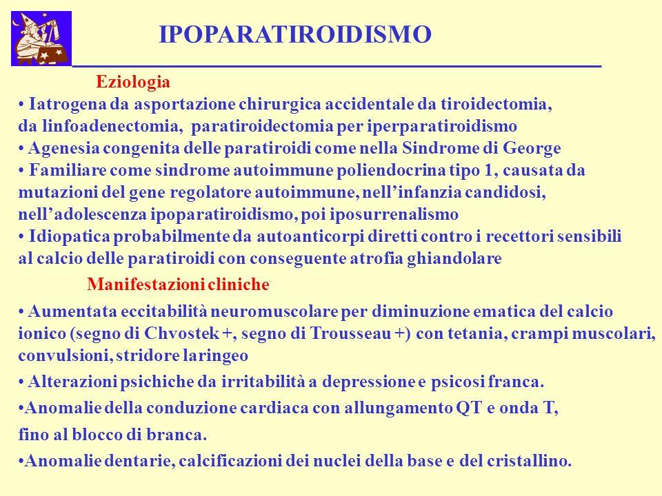 IPOPARATIROIDISMO Eziologia