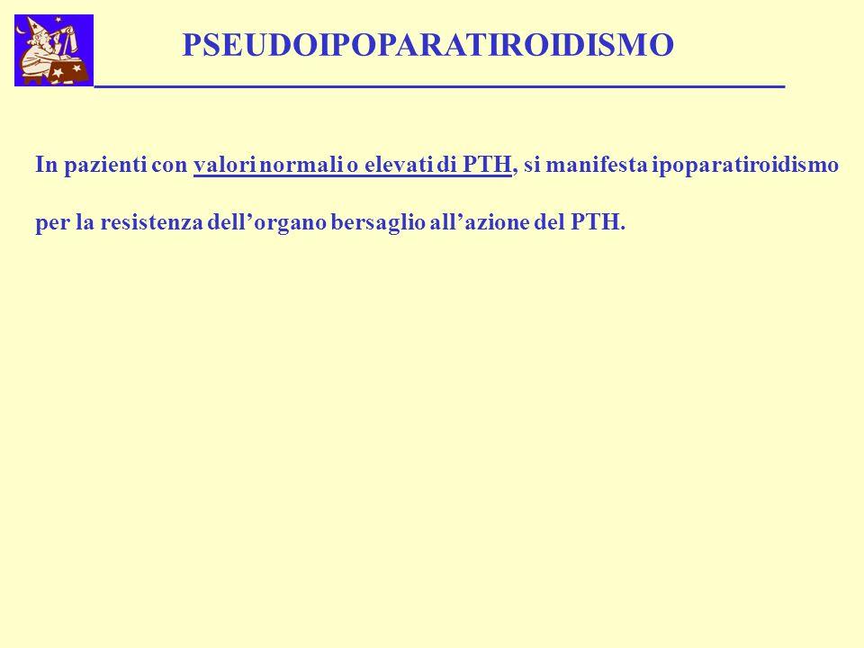 PSEUDOIPOPARATIROIDISMO