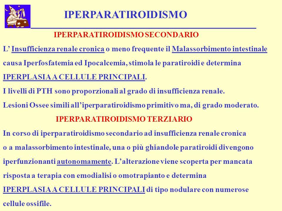 IPERPARATIROIDISMO IPERPARATIROIDISMO SECONDARIO