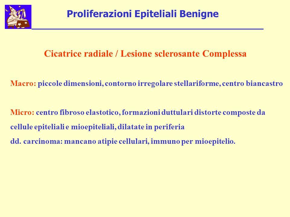 Proliferazioni Epiteliali Benigne