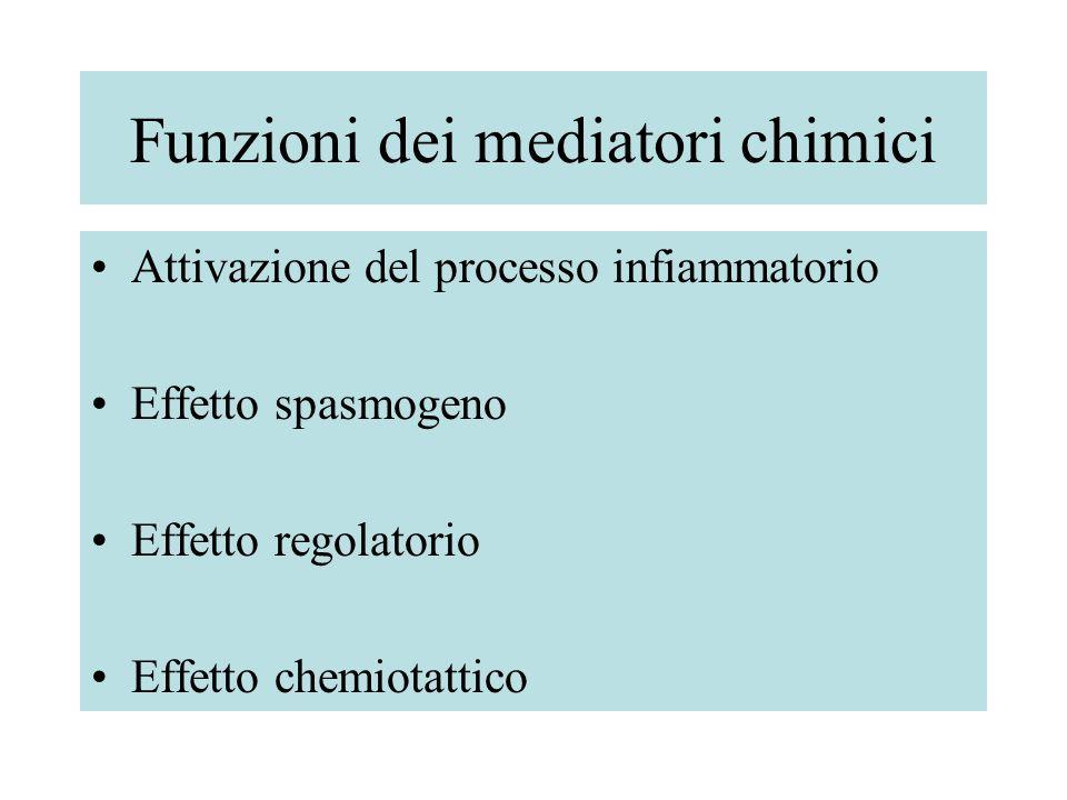 Funzioni dei mediatori chimici