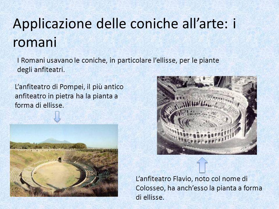Applicazione delle coniche all'arte: i romani
