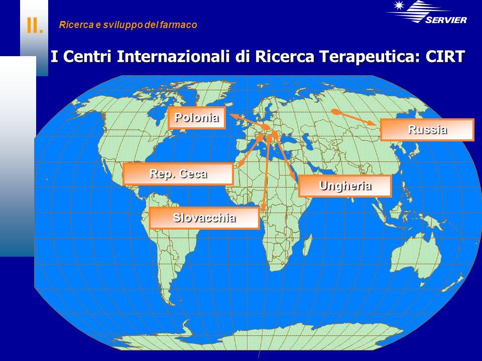 I Centri Internazionali di Ricerca Terapeutica: CIRT