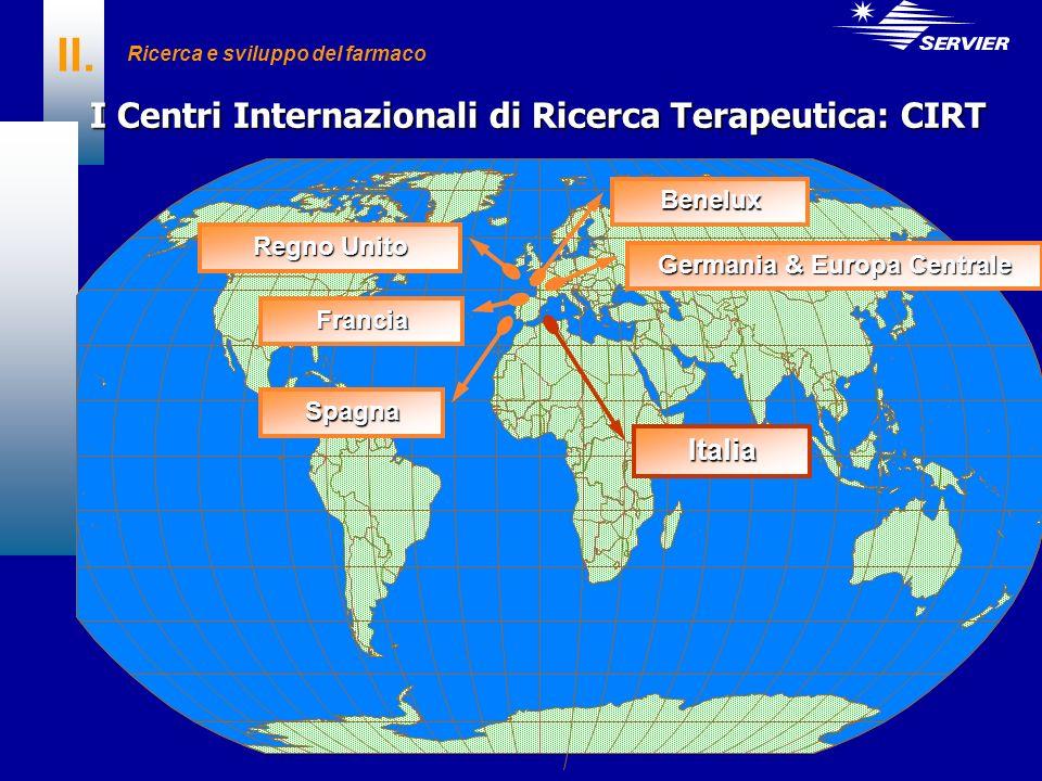 II. I Centri Internazionali di Ricerca Terapeutica: CIRT Italia