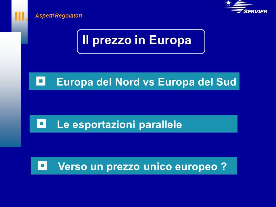  Europa del Nord vs Europa del Sud