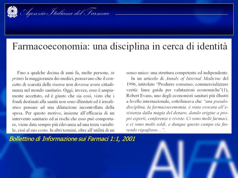 Bollettino di Informazione sui Farmaci 1:1, 2001