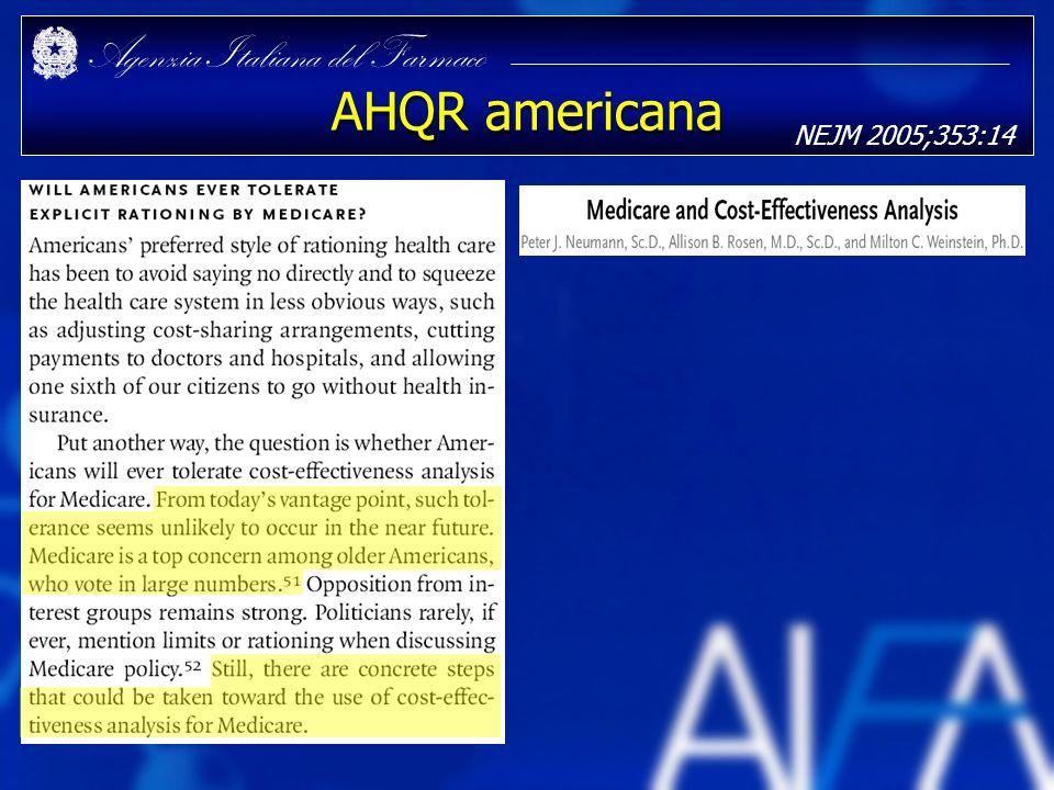 AHQR americana NEJM 2005;353:14