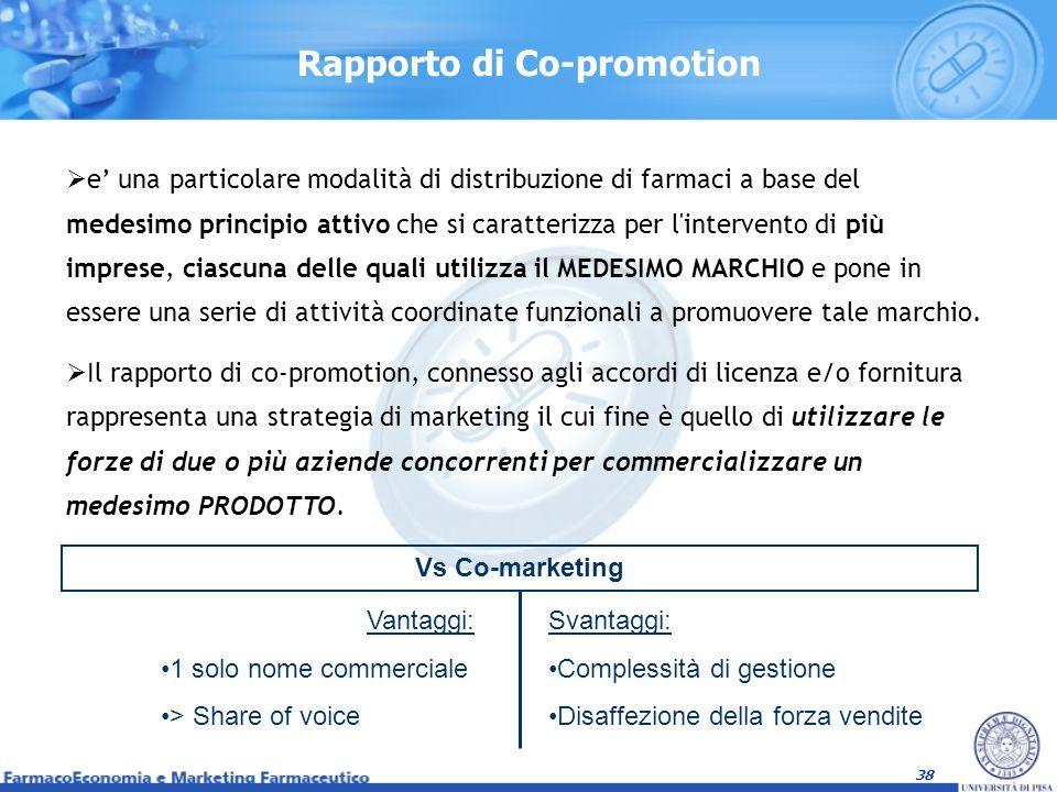 Rapporto di Co-promotion