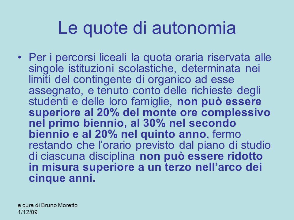 Le quote di autonomia