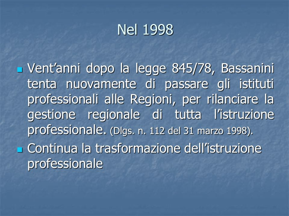 Nel 1998